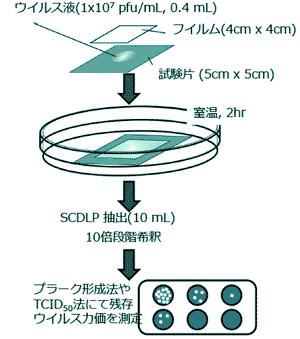 ウイルス 試験 抗 SIAAマーク認証のための試験(抗菌・抗ウイルス)